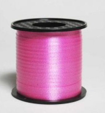 Curling Ribbon Hot Pink 460m