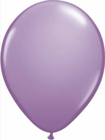 Fashion Lilac Latex Balloons Pack of 25