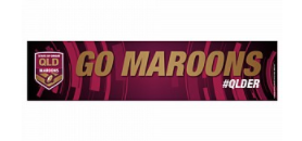 QLD State Of Origin Go Banner
