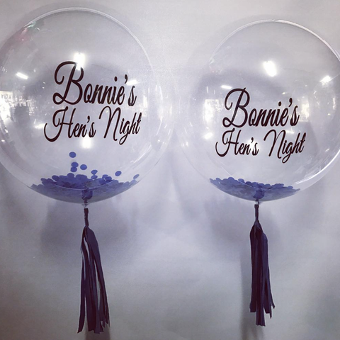 Personalised Confetti Balloon