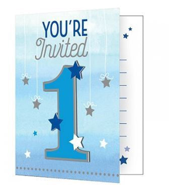 One Little Star Boy Invitations