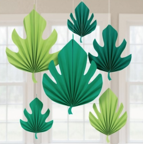 Palm Leaf Fan Decoration