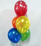 5 Balloon Bouquet with Hi-Float