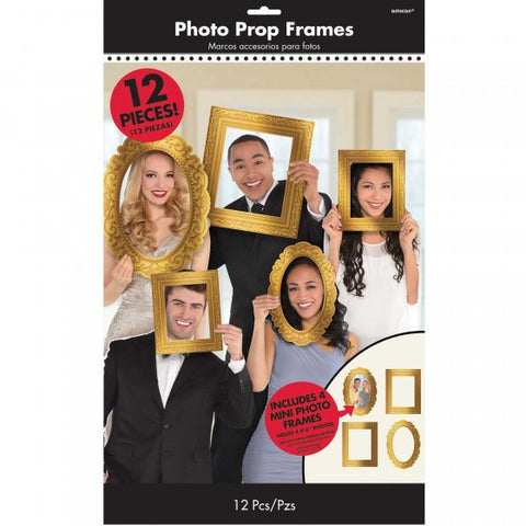 Photo Props Gold Frames Assorted