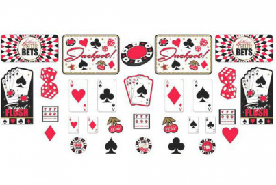 Casino Party Cutouts Value Pack