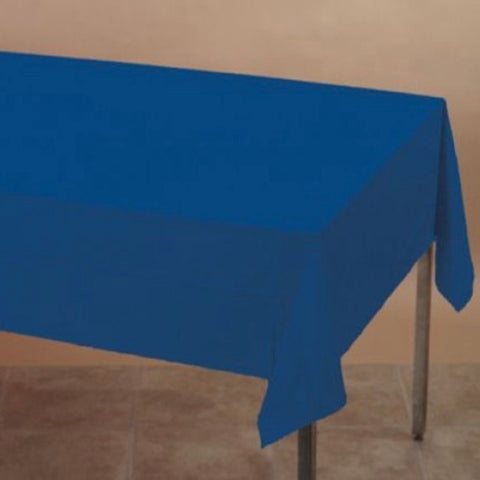 Plastic Tablecover Blue