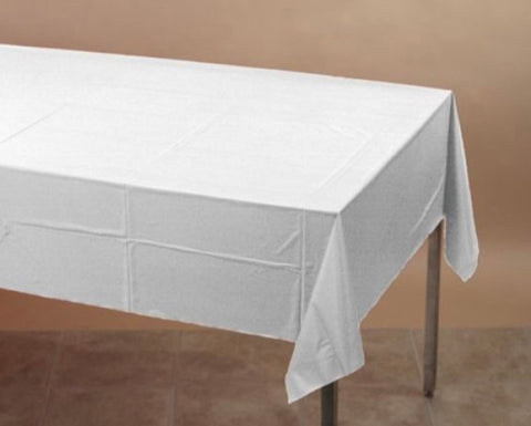 Tablecover Plastic White