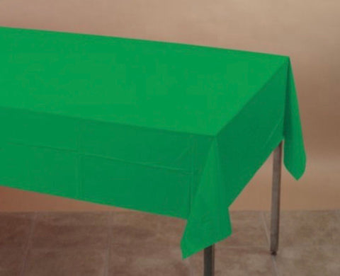 Tablecover Plastic Green