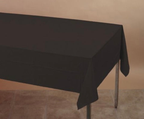 Plastic Tablecover Black