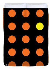 Connect 4 Orange Blue - Duvet Cover