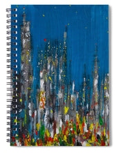City Of Night - Spiral Notebook