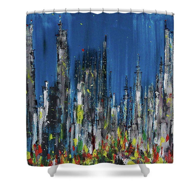 City Of Twilight - Shower Curtain