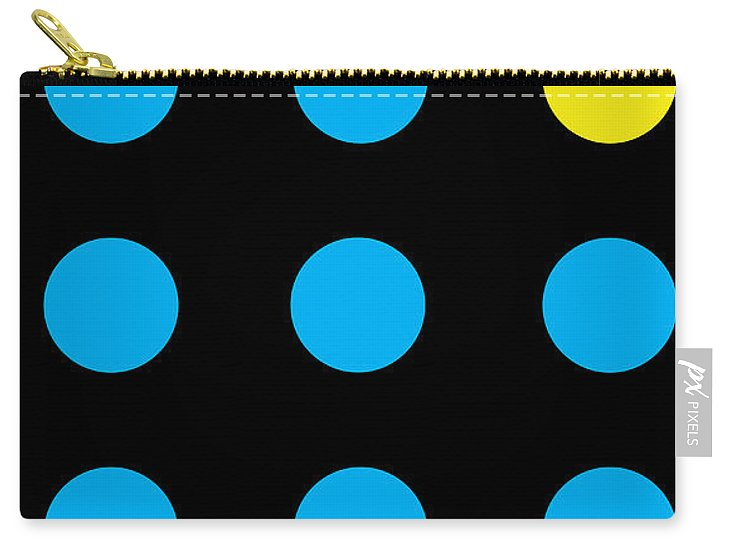 Connect 4 Blue Yellow - Carry-All Pouch