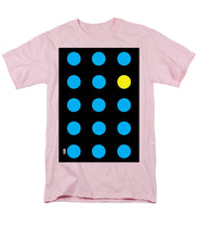 Connect 4 Blue Yellow - Men's T-Shirt  (Regular Fit)