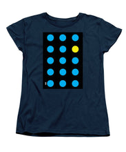 Connect 4 Blue Yellow - Women's T-Shirt (Standard Fit)