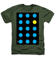 Connect 4 Blue Yellow - Heathers T-Shirt
