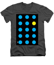 Connect 4 Blue Yellow - Men's V-Neck T-Shirt