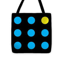 Connect 4 Blue Yellow - Tote Bag