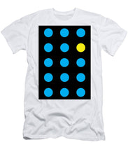 Connect 4 Blue Yellow - T-Shirt