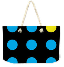 Connect 4 Blue Yellow - Weekender Tote Bag