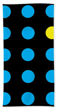 Connect 4 Blue Yellow - Bath Towel