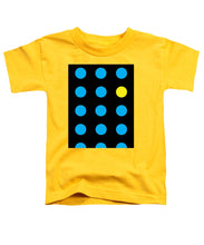 Connect 4 Blue Yellow - Toddler T-Shirt