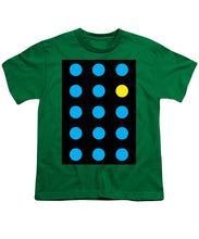 Connect 4 Blue Yellow - Youth T-Shirt