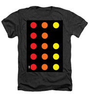 Connect 4 Red Orange Yellow - Heathers T-Shirt