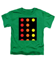 Connect 4 Red Orange Yellow - Toddler T-Shirt