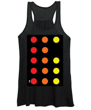 Connect 4 Red Orange Yellow - Women's Tank Top