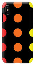 Connect 4 Red Orange Yellow - Phone Case