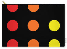 Connect 4 Red Orange Yellow - Carry-All Pouch