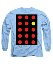 Connect 4 Red Yellow - Long Sleeve T-Shirt