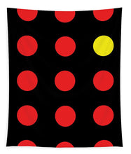 Connect 4 Red Yellow - Tapestry