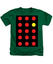 Connect 4 Red Yellow - Kids T-Shirt