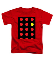 Connect 4 Red Yellow - Toddler T-Shirt