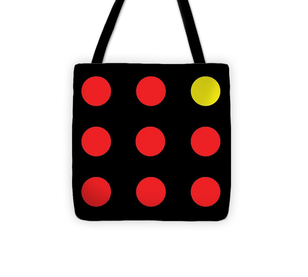 Connect 4 Red Yellow - Tote Bag