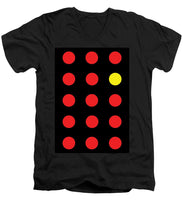 Connect 4 Red Yellow - Men's V-Neck T-Shirt