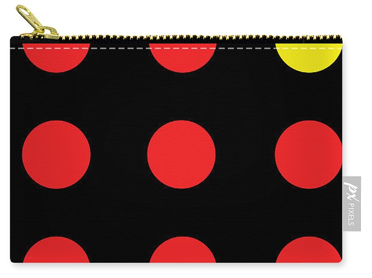 Connect 4 Red Yellow - Carry-All Pouch