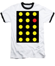 Connect 4 Yellow Red - Baseball T-Shirt
