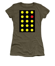 Connect 4 Yellow Red - Women's T-Shirt