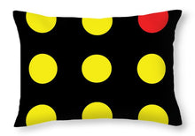Connect 4 Yellow Red - Throw Pillow