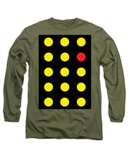 Connect 4 Yellow Red - Long Sleeve T-Shirt