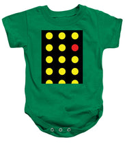 Connect 4 Yellow Red - Baby Onesie