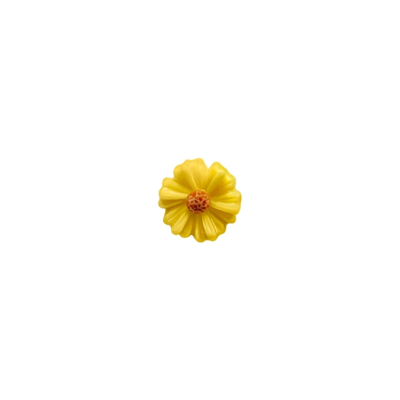 Daisy Charm - Yellow