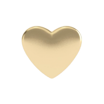 Solid Heart Charm