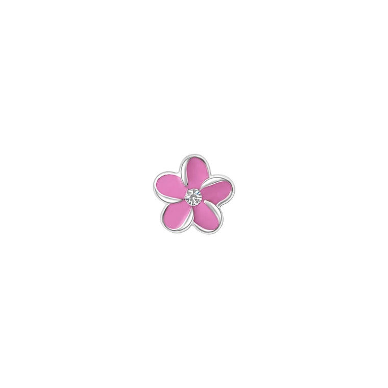Tropical Swarovski Flower - Pink