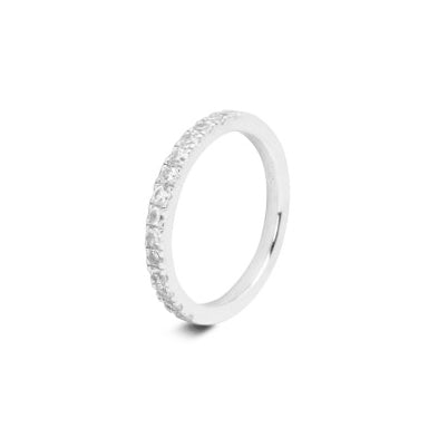 Crystal Sparkle Thin Ring