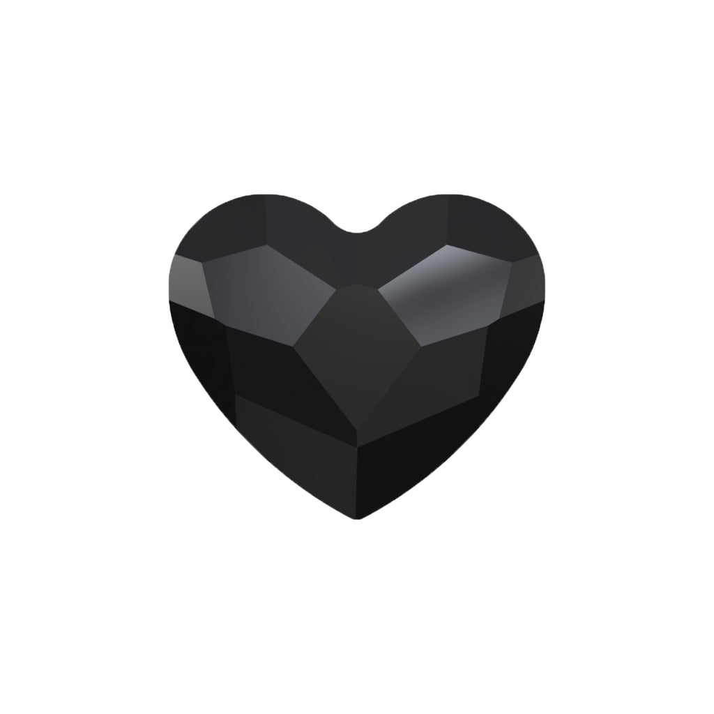 Swarovski Little Love Heart - Black Diamond