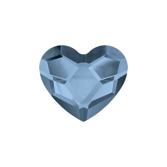 Swarovski Little Love Heart -  Bluebell